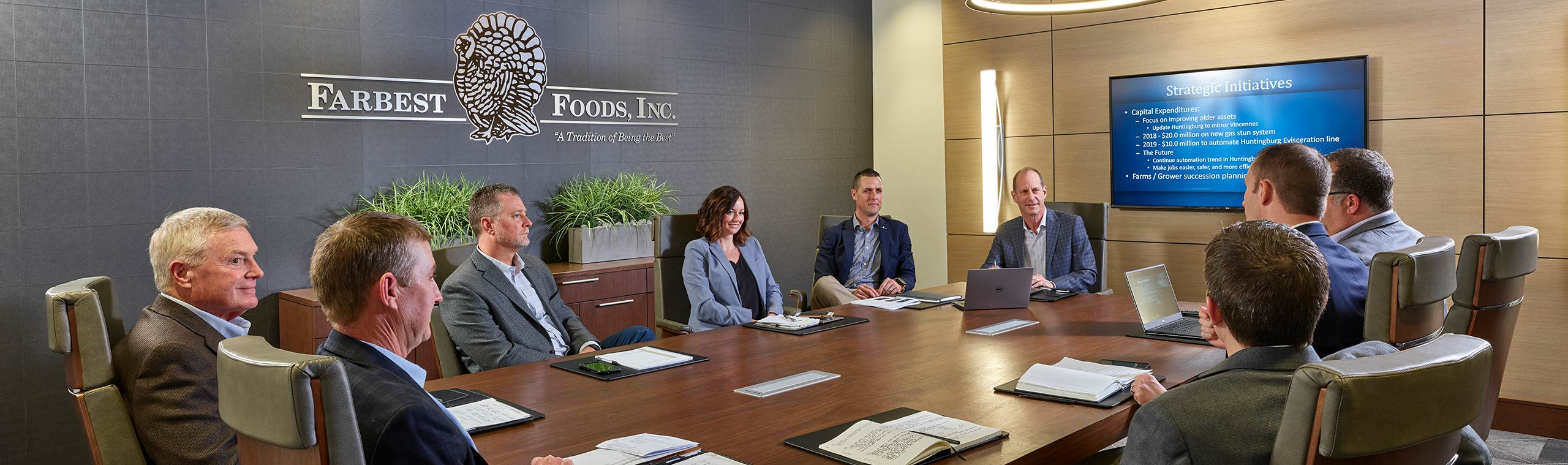 Farbest Foods Executive Team