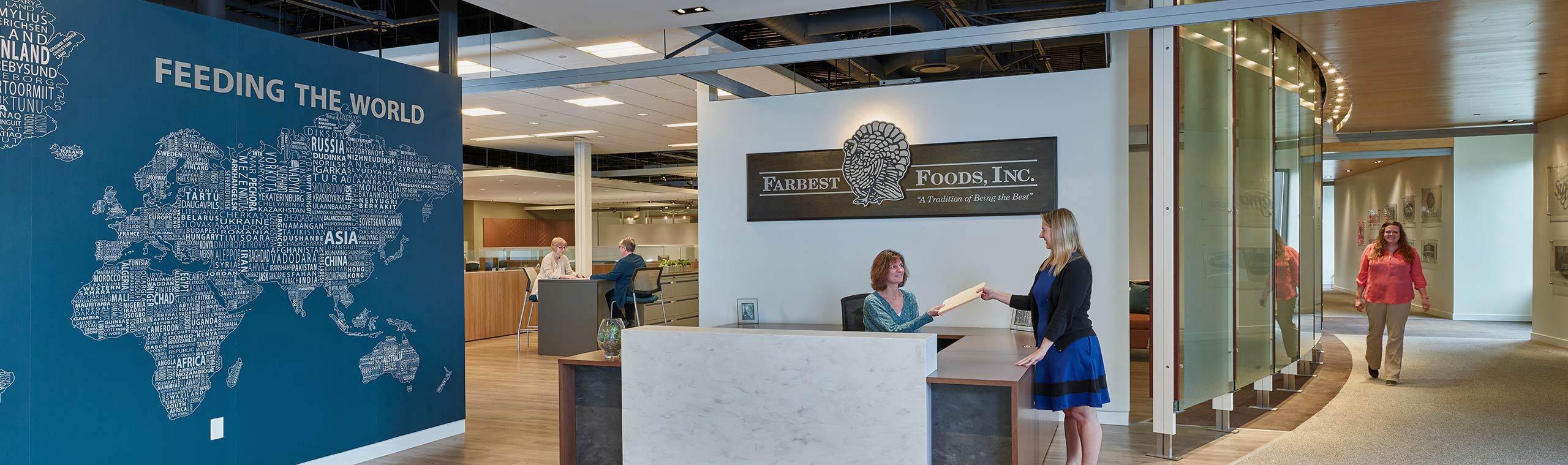 Farbest Corporate Headquarters Lobby